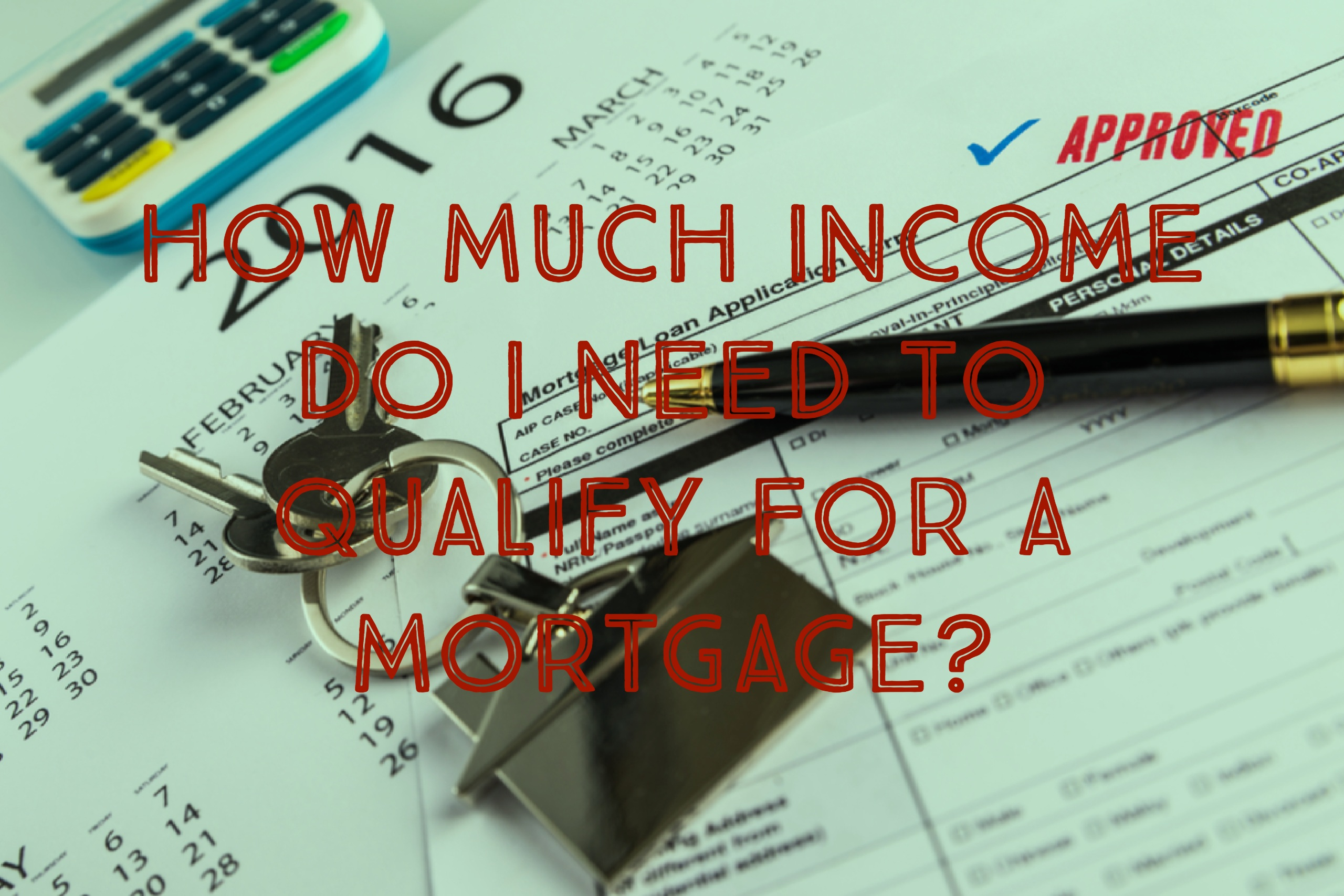 Mortgage Income Qualifications In Lending | Mortgage Heaven